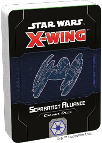 X-Wing 2nd ed.: Separatist Alliance Damage Deck (ENG)
