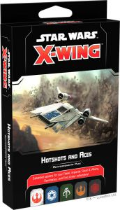 Star Wars: X-Wing  - Hotshots and Aces (ENG) (druga edycja)