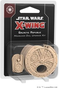 Star Wars: X-Wing - Galactic Republic Maneuver Dial Upgrade Kit (druga edycja)