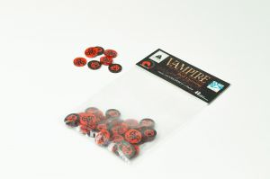 Vampire: The Eternal Struggle - Black & Red Counters