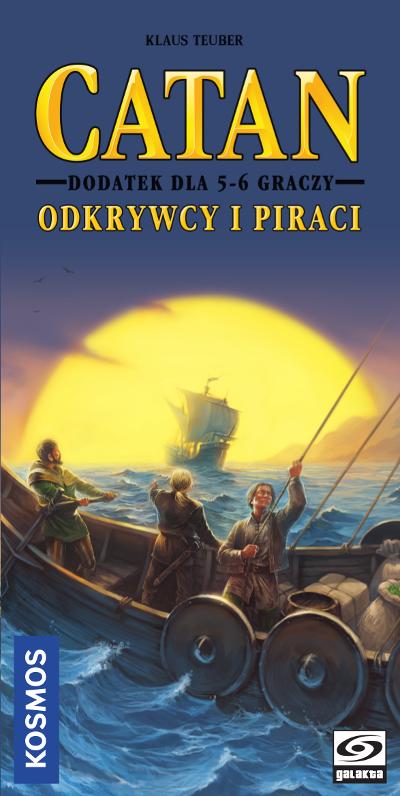Catan - Odkrywcy i Piraci - dodatek dla 5/6 graczy