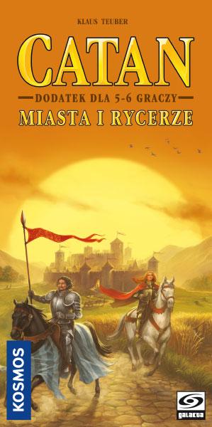 Catan - Miasta i Rycerze - dodatek dla 5/6 graczy