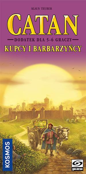 Catan - Kupcy i Barbarzyńcy - dodatek dla 5/6 graczy