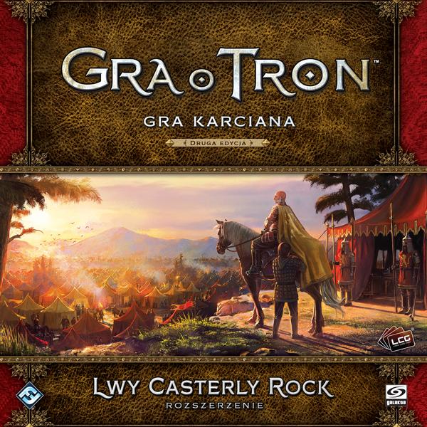 Gra o Tron LCG - Lwy Casterly Rock (rozszerzenie)