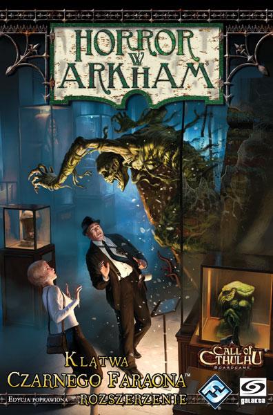 Horror w Arkham: Klątwa Czarnego Faraona (rozszerzenie - edycja poprawiona)