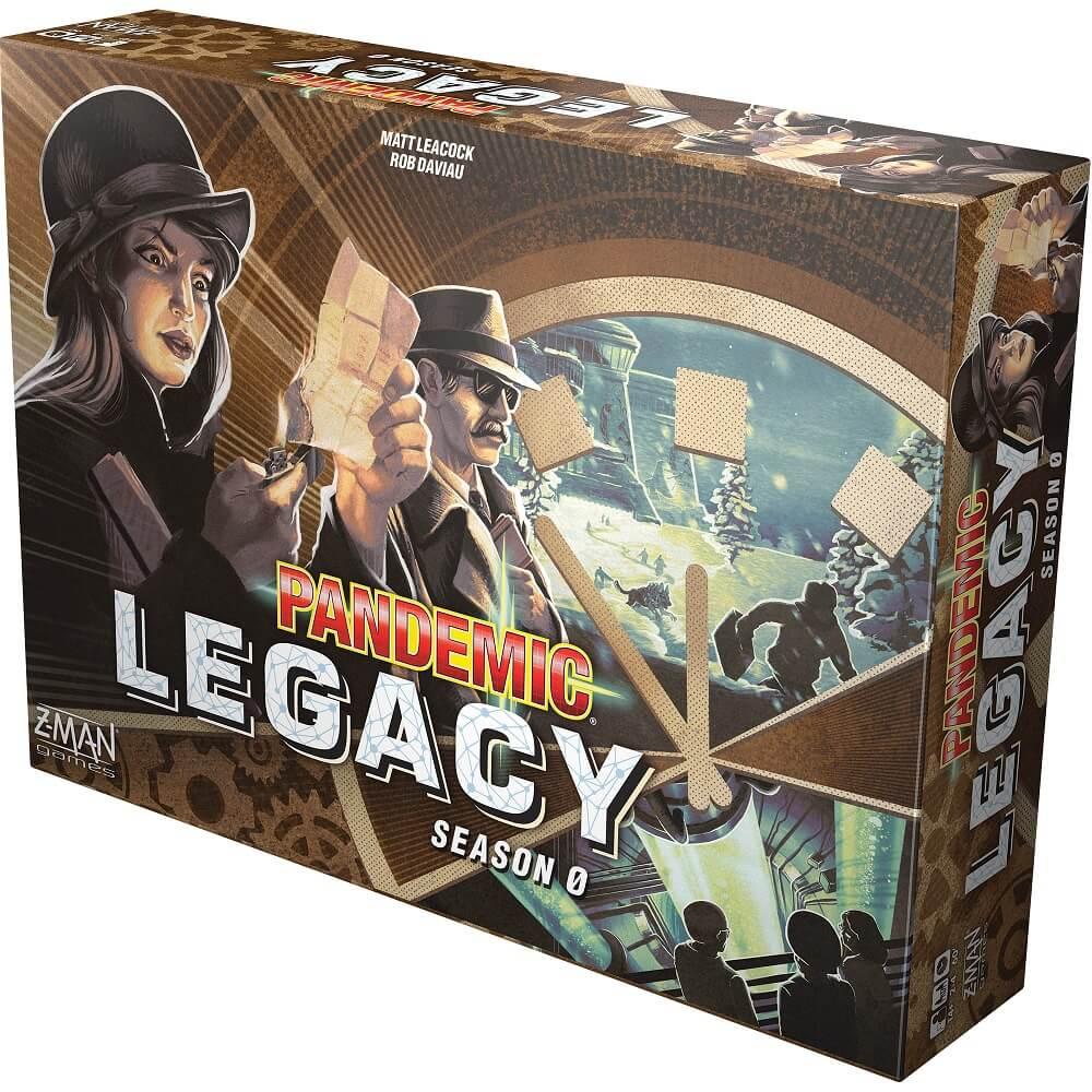 Pandemic Legacy (Pandemia) - sezon 0