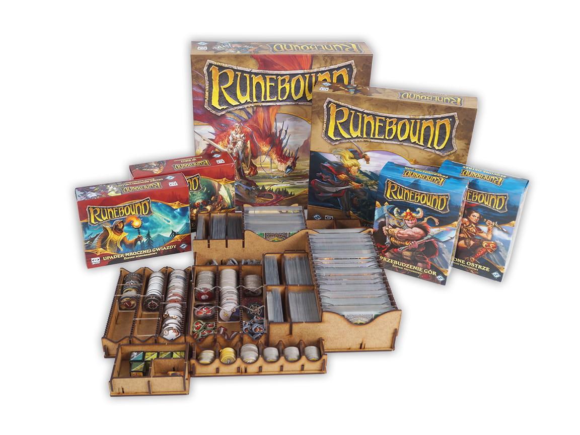 Insert do gry Runebound + dodatki (e-Raptor)