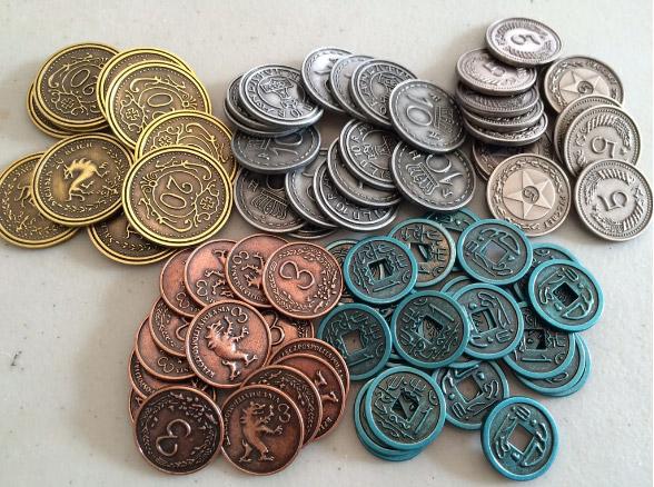 Scythe: Metalowe Monety