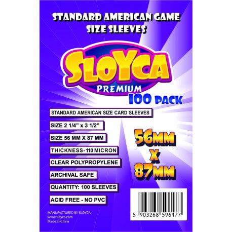 Koszulki SLOYCA Standard American Premium (56x87) - 100 szt.