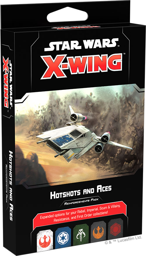 Star Wars: X-Wing 2.0 - Hotshots and Aces