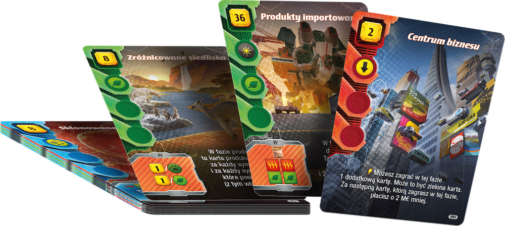 Terraformacja Marsa: Ekspedycja Ares - Zestaw dodatkowy #1 (17 kart)