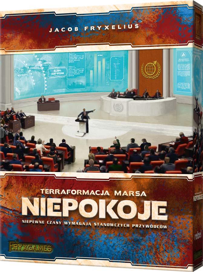 Terraformacja Marsa: Niepokoje (wersja polska)