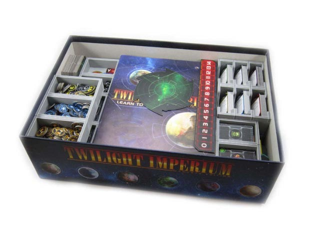 Insert do gry Twilight Imperium 4 (Folded Space)