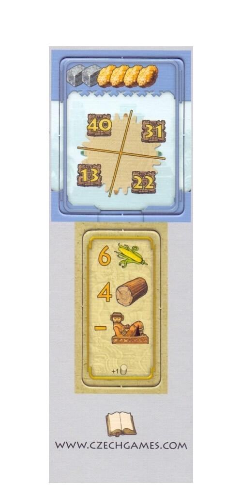 Tzolkin: Kalendarz Majów - Święto Jedzenia (niebieski monument)
