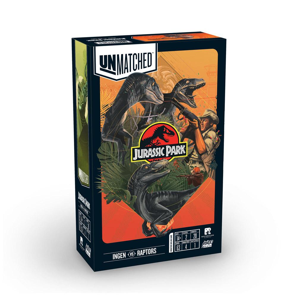 Unmatched: Jurassic Park - Ingen vs. Raptors (ENG)