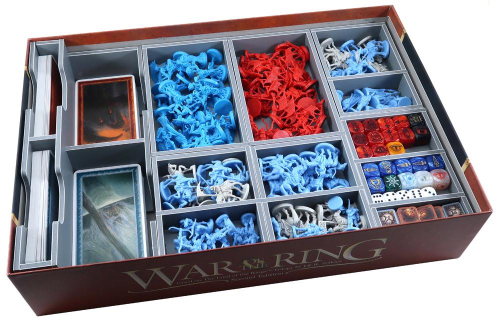Insert do gry Wojna o Pierścień (folded space)