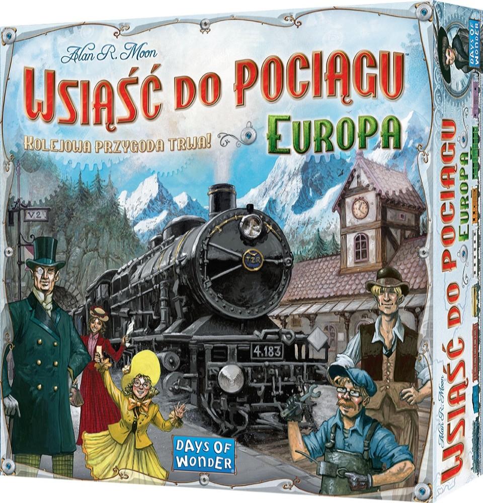 Wsiąść do Pociągu: Europa