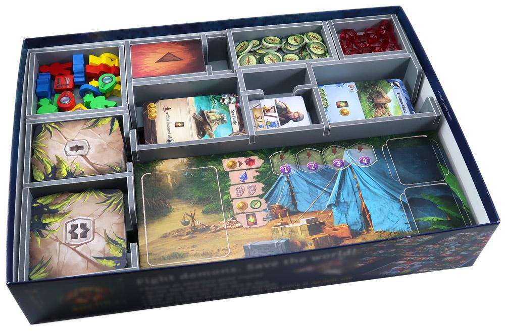 Insert do gry Zaginiona Wyspa Arnak (Folded Space)