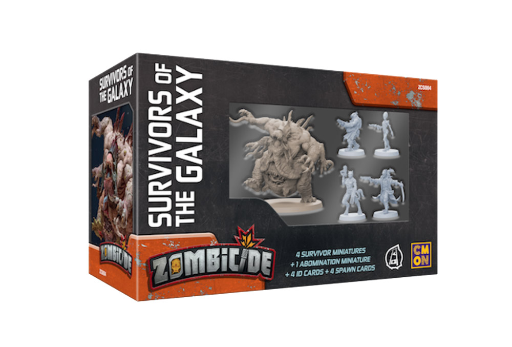 Zombicide: Invader - Survivors of the Galaxy (ENG)